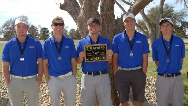Tiger Boys Golf Team Places Second at Big Spring Invitational