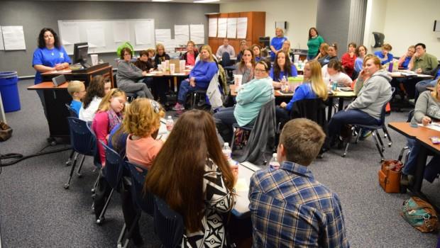 Bennett Students Train Teachers During Staff Development