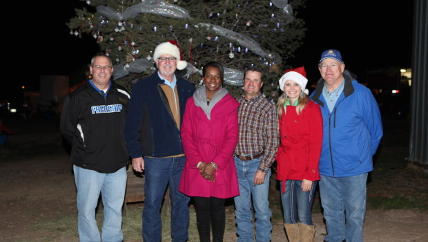 Wolfforth Christmas Tree finds permanent home