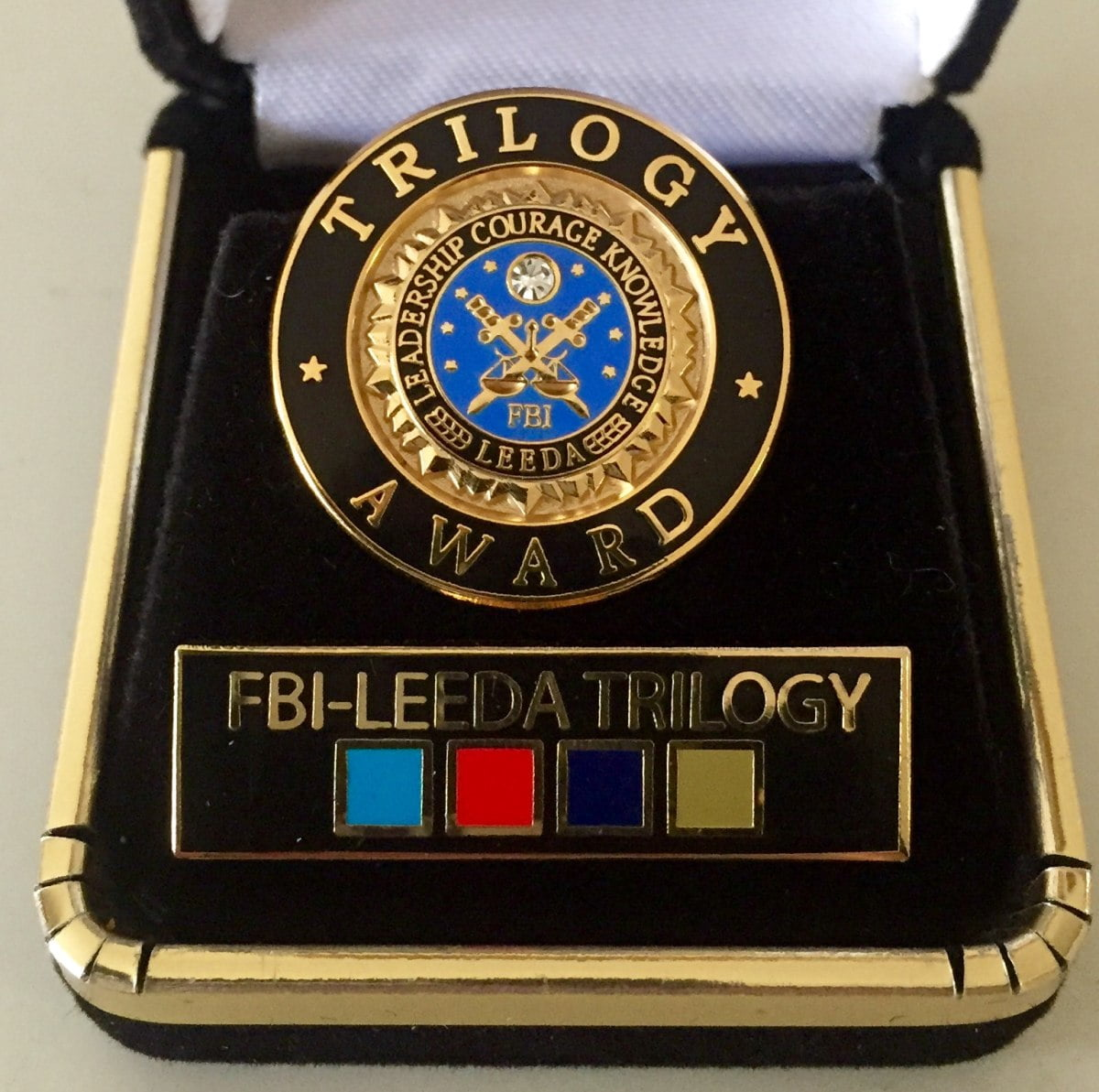 Fisd chief of police earns fbi trilogy awards my wolfforth news fisd chief of police earns fbi trilogy awards 1betcityfo Images