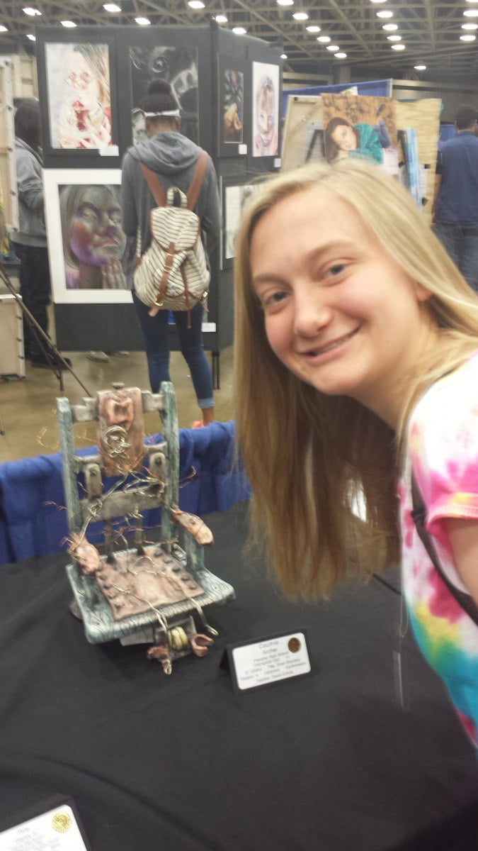 Fhs students win big at state vase competition my wolfforth news fhs state vase gold seal winners were courtney archer and amber noyola fhs also had five state vase medal winners they include kennedy kinder reviewsmspy