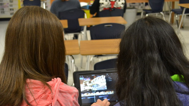 iPads and iMovies Add a New Twist to HMS Science Class