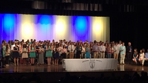FHS National Honor Society Inducts 167 New Members