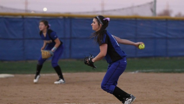 Tiger Softball Run Rules Monterey, Now 4-1 in District