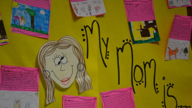 Westwind Students Describe What Mom Is in Preparation for Mother's Day