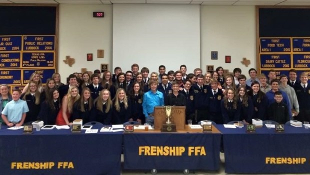 Frenship FFA Places Four Teams in State's Top 10