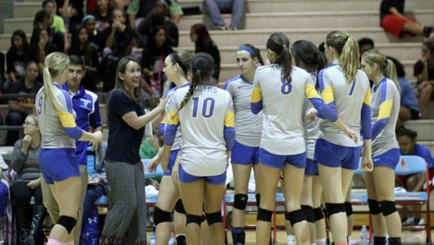 Tiger Volleyball Sweeps Monterey, Gearing Up for Playoffs