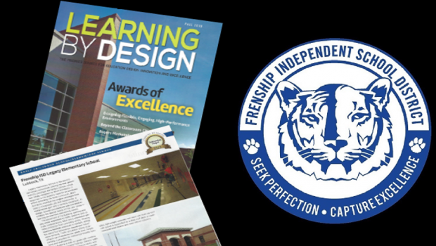 Legacy Elementary Showcased in Learning By Design Magazine