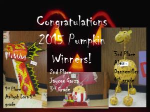 WB Pumpkins 2015