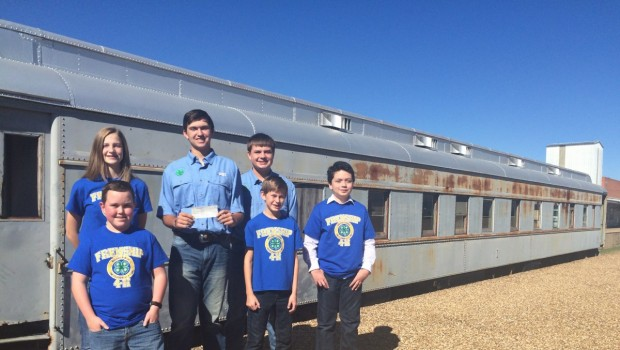 Frenship 4-H donates to restoration of Pullman Railcar