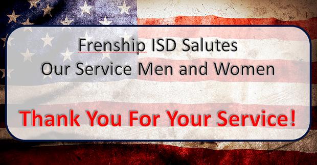FISD Salutes Our Veterans