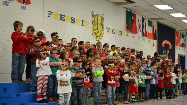 Holiday Sing-Along With Bennett First Graders