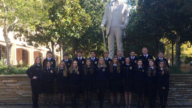 FHS Students Represent FISD Well At State FFA Competition