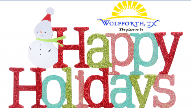 City of Wolfforth Holiday Hours