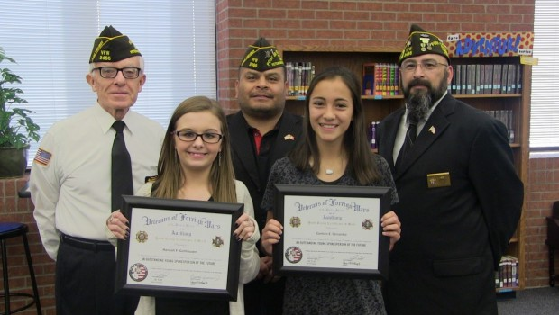 TVMS Students Participate in Patriots Pen Competition