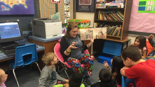 Westwind Students are Thankful For Reading