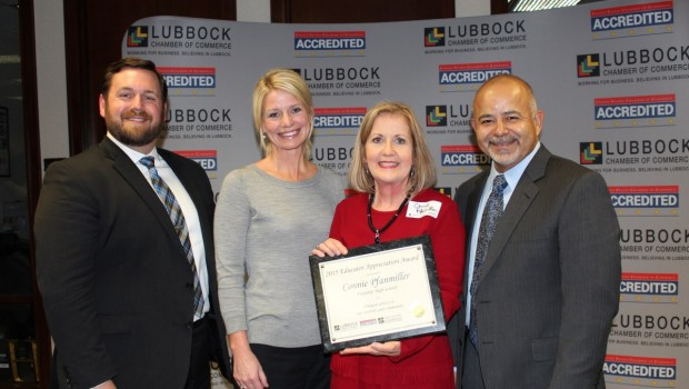FHS Teacher Honored as Education Appreciation Award Winner