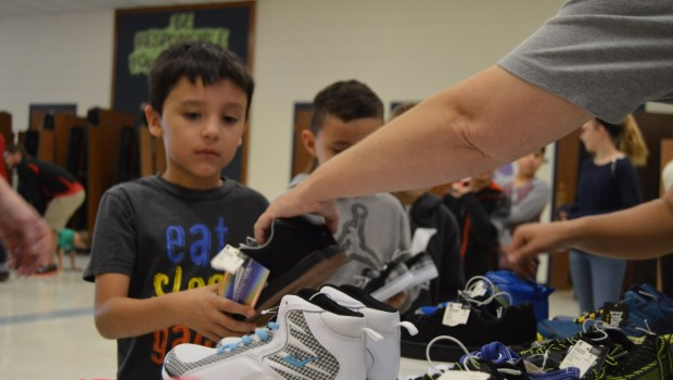Westwind Students Receive New Shoes from Local Business
