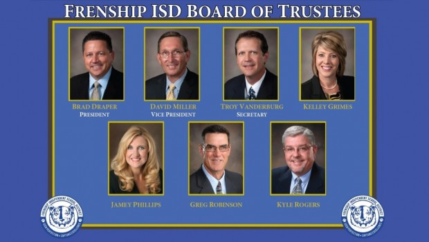 FISD Kicks Off Spring Semester with School Board Appreciation Month
