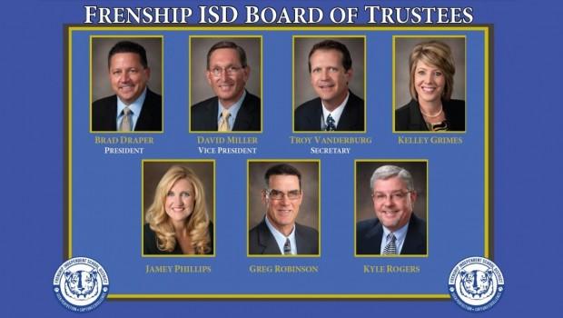 FISD Celebrates School Board Appreciation Month