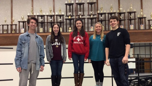 Historic Weekend Lands Five FHS Students on All-State Choir