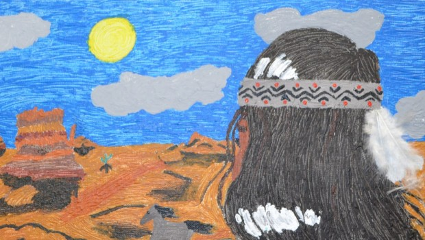 FMS Takes Top Prize During Ranching Heritage Art Competition