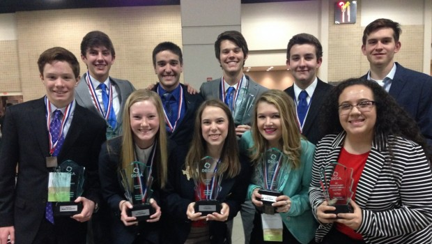Eleven Frenship High DECA Students Advance to International Competition