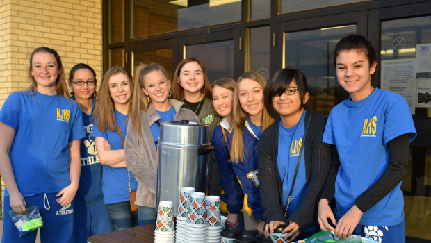 Coffee At The Curb with FMS NJHS