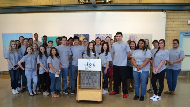 "Local Students Come Together to Introduce the ""GR806"""