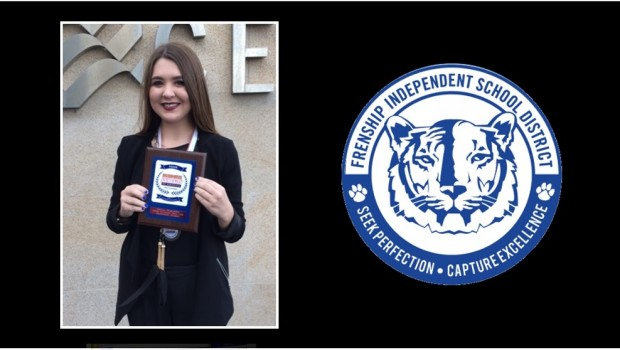 Frenship Student Qualifies for Nationals in Business Professionals of America Competition