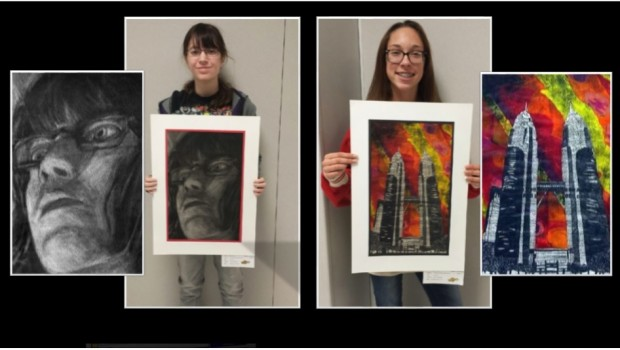 Heritage Artists Win National Scholastic Art Awards
