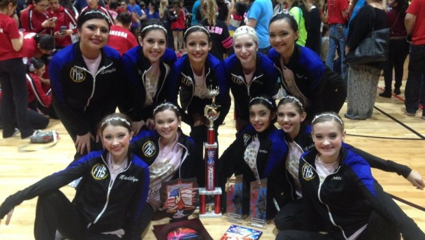 Frenship JV Dance Team A Big Winner in Latest Competition