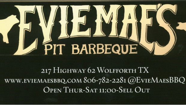 Evie Mae's Pit Barbeque to host Grand Opening!