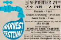 Harvest Festival Deadlines Quickly Approaching
