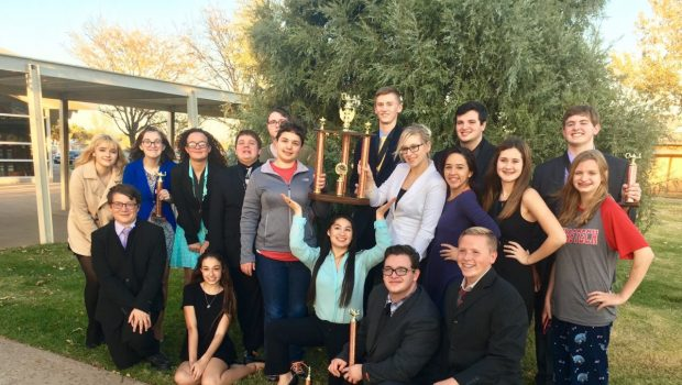 FHS Speech and Debate Team Places Second at Caprock High