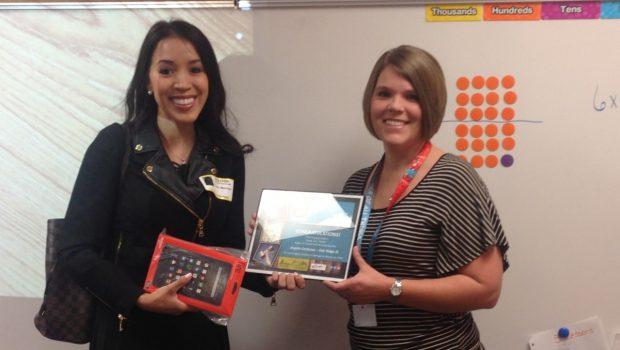 Oak Ridge Teacher a Think Through Math Prize Winner