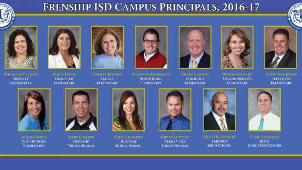 Frenship ISD Celebrates National Principal Month