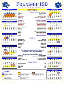 2017-18 Calendar (APPROVED 2-20-17)