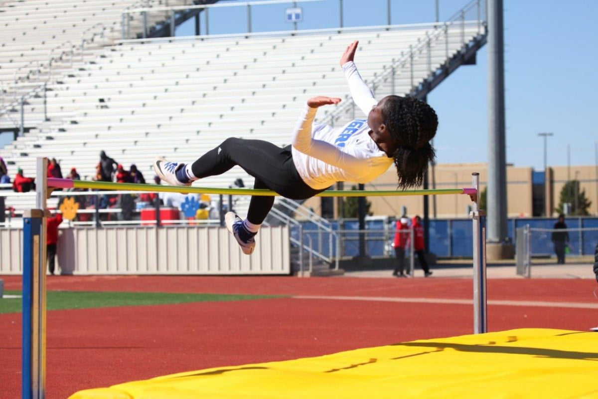 out of the blocks to begin the season by hosting the best compeion from around the west texas region at the annual city bank relays in wolfforth