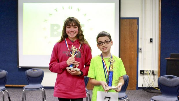 Elementary, Middle School Students Compete in District Spelling Bee