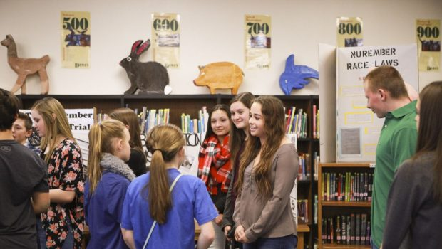 Frenship MS Students Create Holocaust Museum