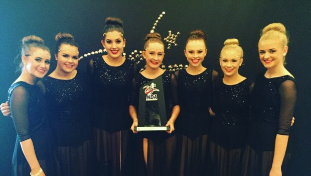 Varsity Dance Team Competes, Places at NDA All-Star Nationals