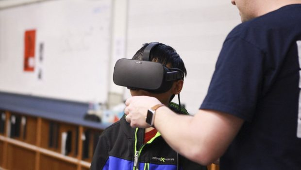 Heritage Students Step Into Virtual Reality with Oculus Rift Demo