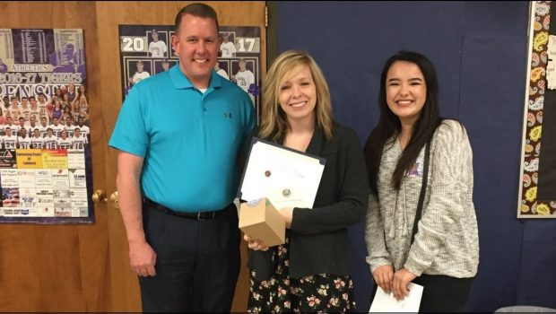 FHS Teacher Named Mrs. Baird's Teacher on the Rise Award Winner