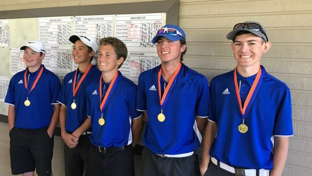 FHS Boys Golf Wins 2-6A Preview Championship