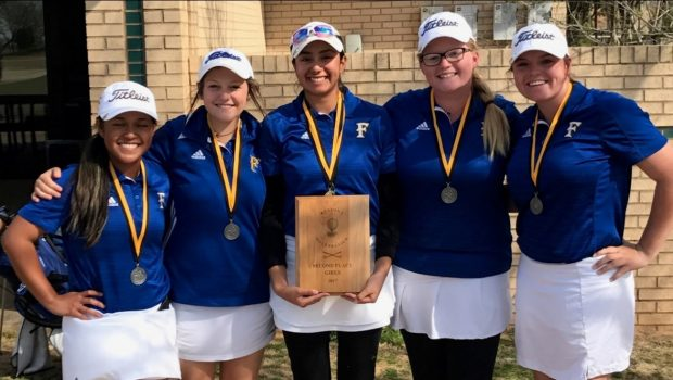 FHS Girls Golf Team Finishes in Second Place at Regional Preview