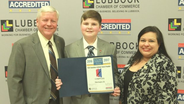 Young Entrepreneur at Frenship Middle School Advances to Saunders Scholars Competition