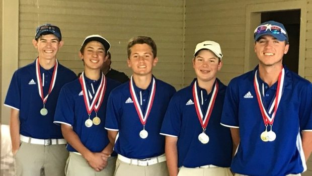 FHS Boys Golf Qualifies for Regionals with Runner Up District Finish