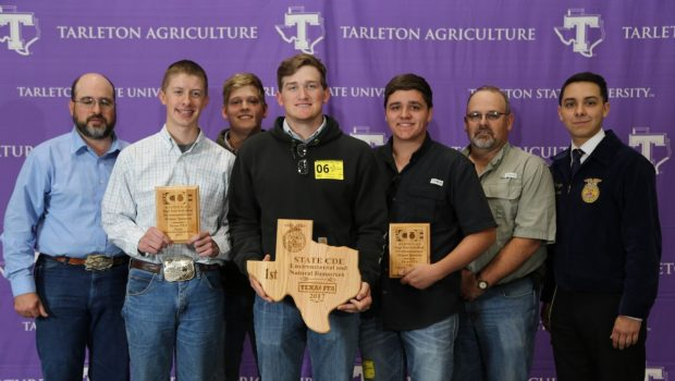 Frenship FFA Environmental and Natural Resources Team Wins State Championship