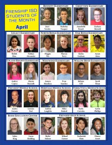 FISD Students of the Month APR2017